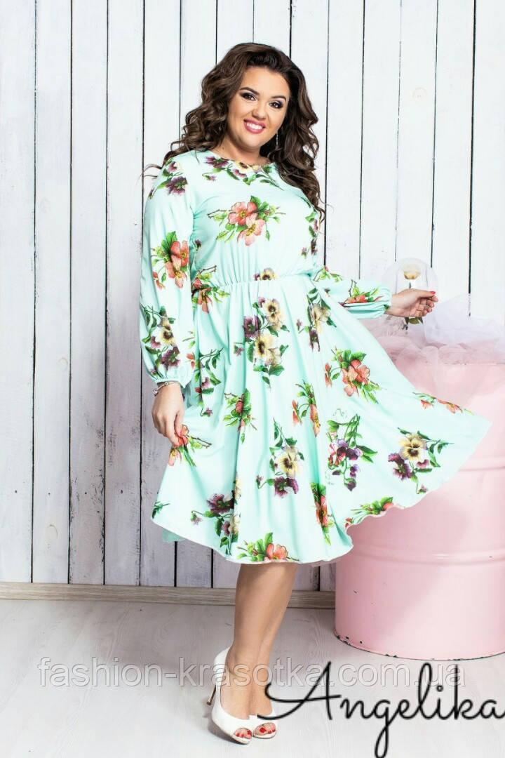 Шикарное женское легкое платье,ткань:софт.