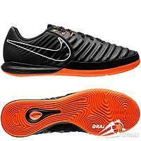 Футзалки Nike TiempoX Lunar LegendX VII Pro IC Black/Orange