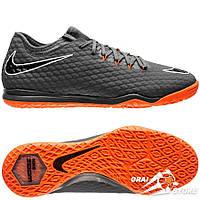 Футзалки Nike Hypervenom Phantom III Pro IC Grey/Orange/White