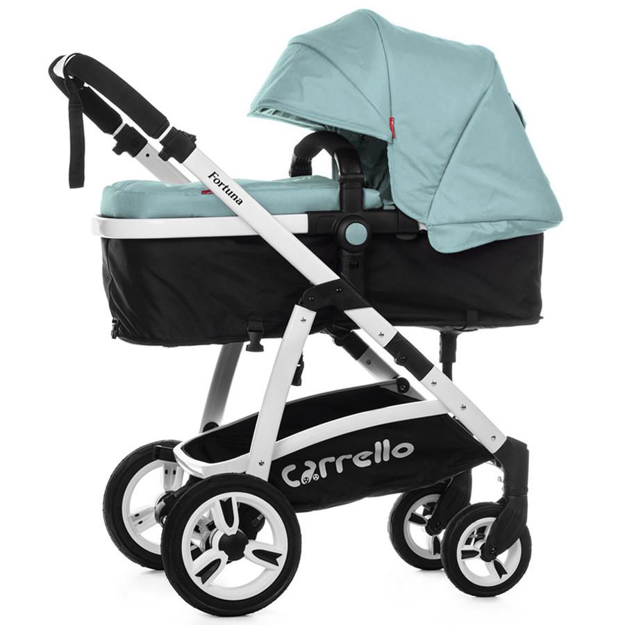 Детская коляска трансформер Carrello Fortuna CRL-9001 Arctic Blue (Каррелло, Китай)
