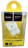 СЗУ USB Hoco UH202 Smart (2USB) Белый