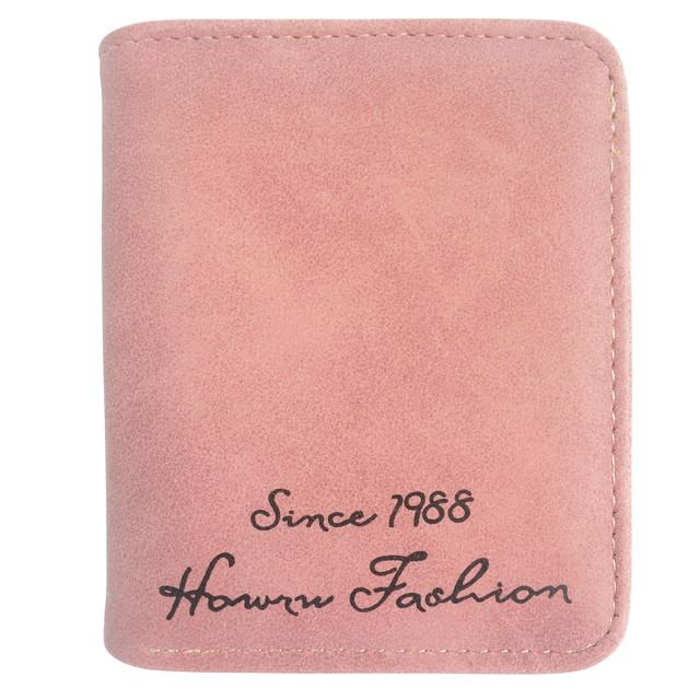 Маленький женский кошелек розовый