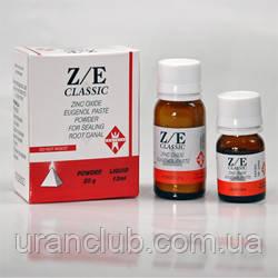 Циноксид эвгеноловая паста для пломбирования корневых каналов Z/E classic 20 гр.+10 мл.