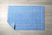 Полотенце Lotus Отель - Голубой для ног (550 г/м²) 50*70