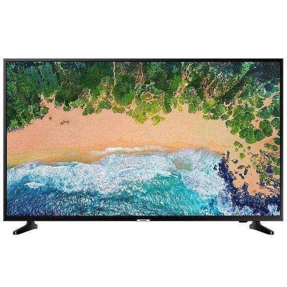 Телевизор Samsung UE65NU7022 (PQI1300Гц, 4K Smart, UHD Engine, HLG, HDR10+, Dolby Digital+ 2.0 20Вт, DVB-C/T2)