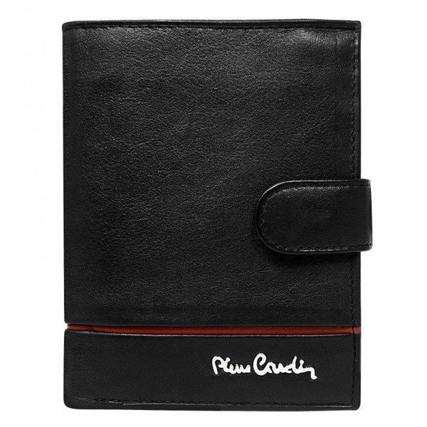 Кожаный кошелек Pierre Cardin 326a-YS507,1 красная линия