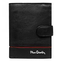 Шкіряний гаманець Pierre Cardin 326a-YS507,1 червона лінія, фото 1
