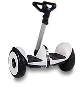 """Гироскутер с телескопической ручкой, гироборд SNS M1Robot mini PRO. Колёса-10,5"""". Черный, белый. Гарантия!"""