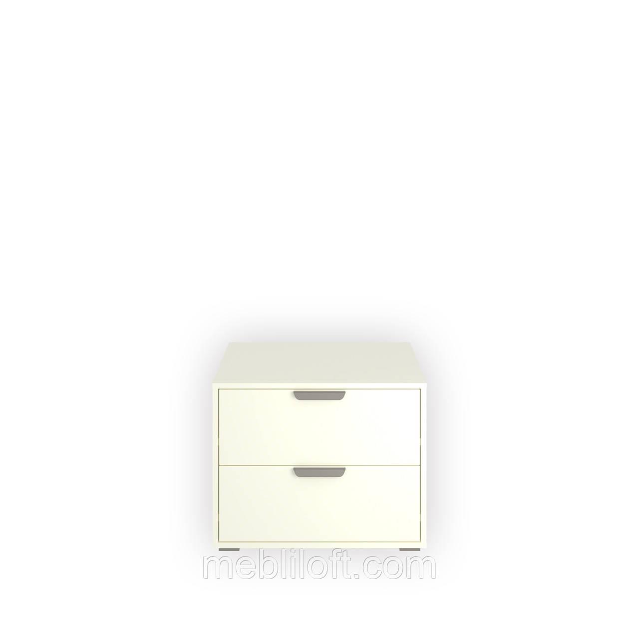 Шкафчик 2S  Арте / Arte белый / дуб каменный