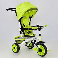 Детский трехколесный велосипед Best Trike DT 128 Очень легкий Колеса пена d=25 см, заднее: d=20 см