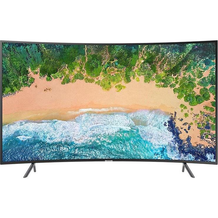Телевизор Samsung UE55NU7302 (PQI1400Гц, 4K, Smart, UHD Engine, HLG HDR10+, D.Digital+ 20Вт, Curved, DVB-C/T2)