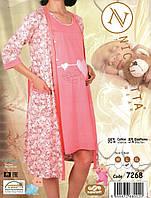 Халат и сорочка для  беременных и кормящих  Nicoletta