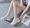 Кроссовки женские Balenciaga реплика белые, фото 4