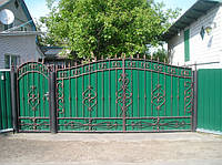 Ворота кованные 22