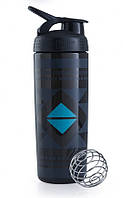 Спортивная бутылка-шейкер BlenderBottle SportMixer Signature Sleek BLACK DIAMOND NATIVE 820мл (ORIGINAL), фото 1