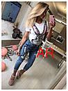 Костюм джинсы и футболка GUCCI люксовая реплика, фото 3