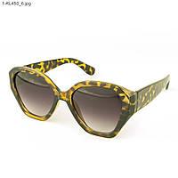 Стильные женские солнцезащитные очки - Леопардовые - 1-КL450, фото 1