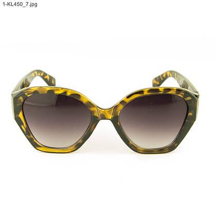 Стильные женские солнцезащитные очки - Леопардовые - 1-КL450, фото 2