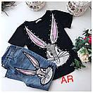 Костюм джинсы и футболка GUCCI люксовая реплика, фото 5