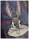 Костюм джинсы и футболка GUCCI люксовая реплика, фото 7