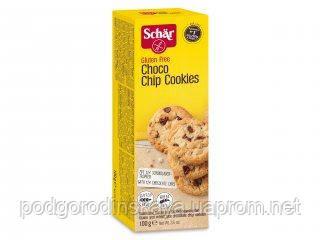 Печенье без глютена Choco Chip Cookies