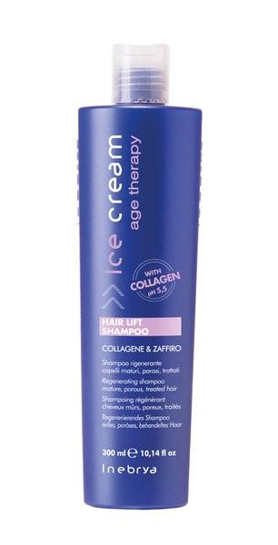 Регенерирующий шампунь для зрелых и пористых волос Inebrya Age Therapy Hair Lift   300ml