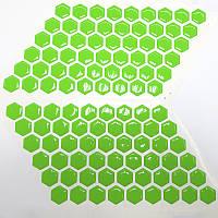 Стільники на бак Fluo Green VIP якість, фото 1
