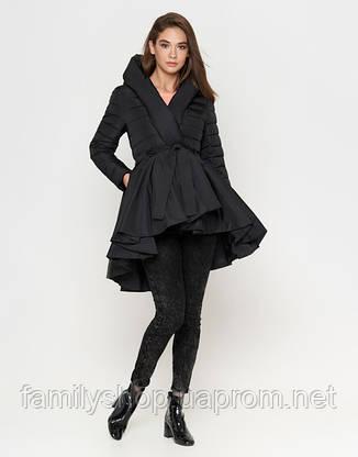 Braggart Youth | Осенне-весенняя куртка женская 25755 черная, фото 2