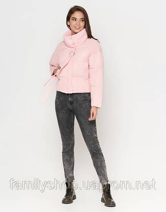 Braggart Youth | Женская куртка на осень-весну 25233 пудра, фото 2