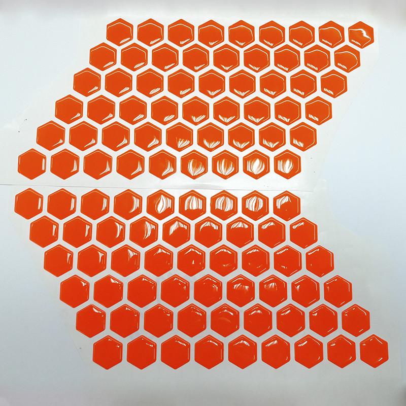 Соти на бак Fluo Orange VIP якість