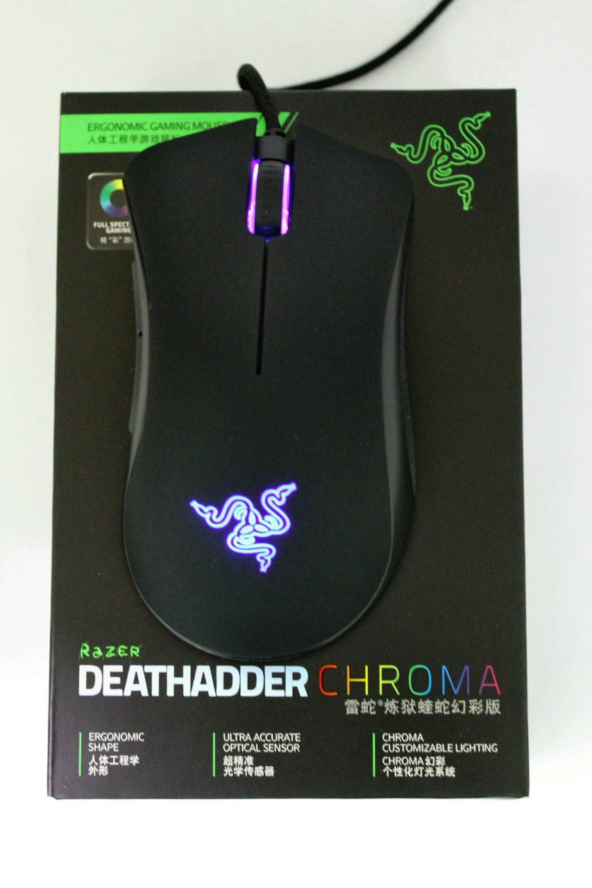 Геймерская мышка Razer DeathAdder Chroma