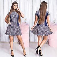 Платье / костюмная ткань, французский трикотаж / Украина 15-320, фото 1