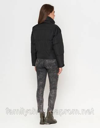 Braggart Youth | Женская осенняя куртка 25233 черная, фото 2