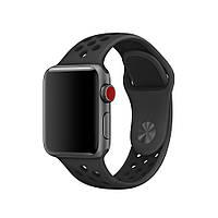 Ремінець Apple Watch Nike band 38mm/40mm Black/Gray