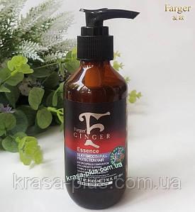 Масло для роста волос с имбирем и гиалуроновой кислотой Farger