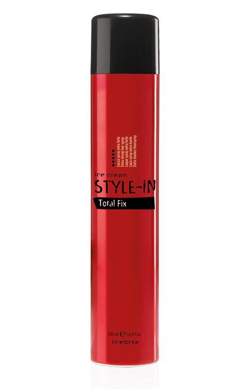 Лак для волос экстра сильной фиксации Inebrya Style-In Power Total Fix 750мл