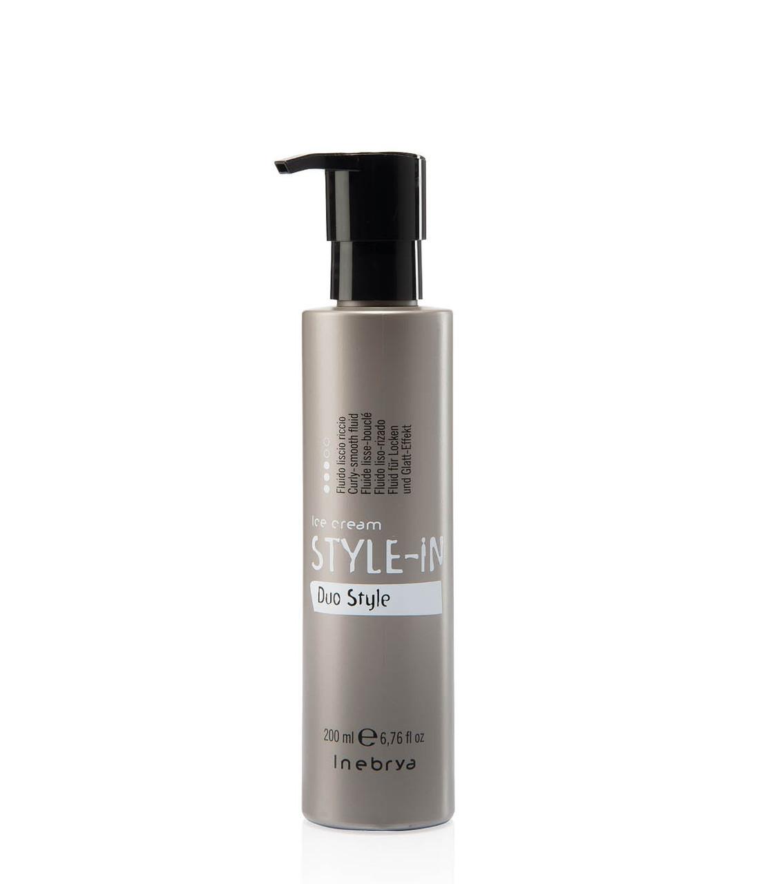 Флюид для завивки или выпрямления волос Inebrya Style-In Fluido Duo Style 200мл