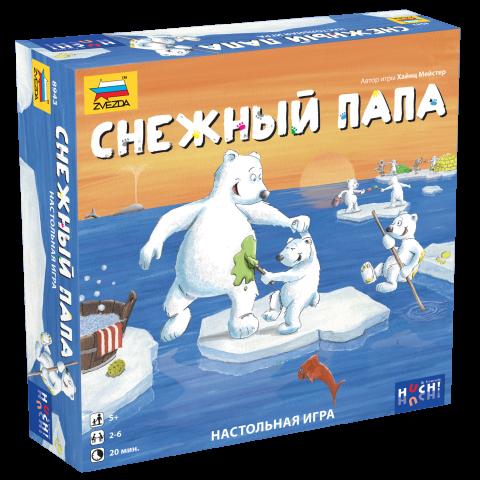 Настольная игра Снежный папа
