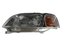 Передние (левая) Civic альтернативная тюнинг оптика фары на для HONDA Хонда Civic VI 1997-1999 левая H4, авт.регул. 5-дв