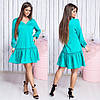 Платье / французский трикотаж / Украина 15-642