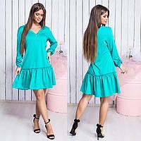 Платье / французский трикотаж / Украина 15-642, фото 1