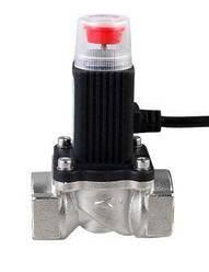 Клапан электромагнитный отсекающий G 1/2 дюйма, 12 вольт, DN15A, нормально открытый