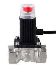 Клапан электромагнитный отсекающий G3/4 дюйма, нормально открытый, 12 вольт