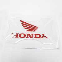 Бампер для шлема Honda Clear Red