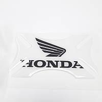 Бампер для шлема Honda Clear Black