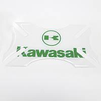 Бампер для шлема Kawasaki Clear Green