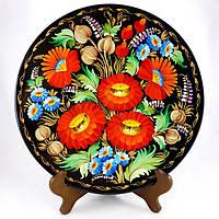 Расписная тарелка Летние краски