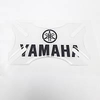 Бампер для шлема Yamaha Clear Black