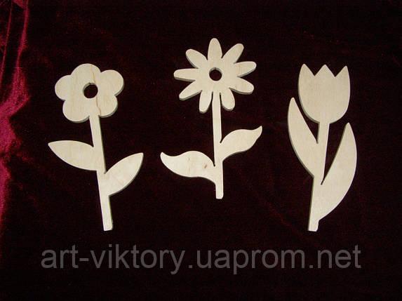 Цветочки набор из 3 шт., фото 2