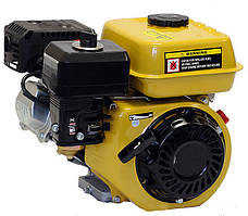 Двигатель бензиновый Forte F192  (16 л.с.,  электростартер, шпонка Ø25мм) + доставка